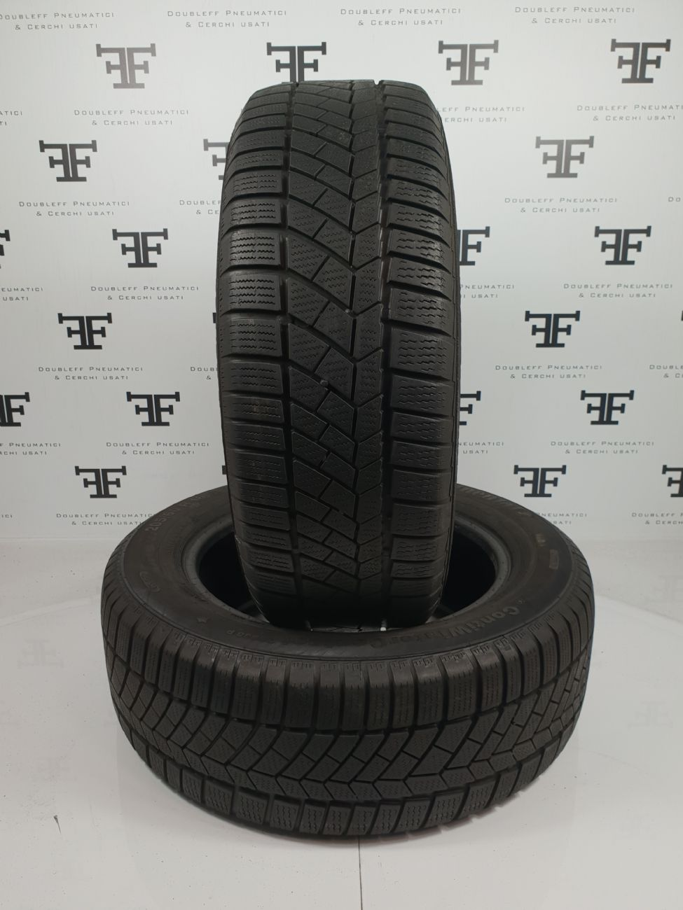 Pneumatici 205 55 R17 91 H CONTINENTAL ContiWINTERCONTACT TS830 P SSR invernale RUNFLAT usati 120€