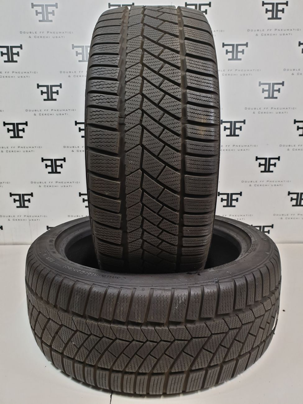 Pneumatici 225 45 R18 95 V CONTINENTAL ContiWINTERCONTACT TS830 P SSR invernale RUNFLAT usati 120€